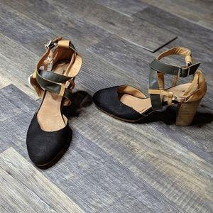 Anthropologie Schuler & Sons heels